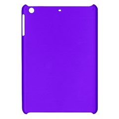 Neon Purple Solid Color  Apple Ipad Mini Hardshell Case by SimplyColor