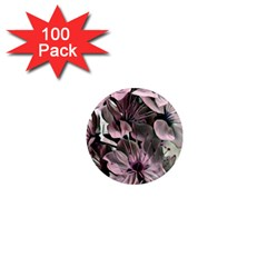 Wonderful Silky Flowers A 1  Mini Magnets (100 Pack)  by MoreColorsinLife