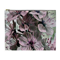 Wonderful Silky Flowers A Cosmetic Bag (xl)