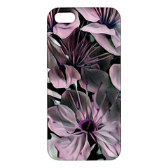 Wonderful Silky Flowers A Apple Iphone 5 Premium Hardshell Case by MoreColorsinLife
