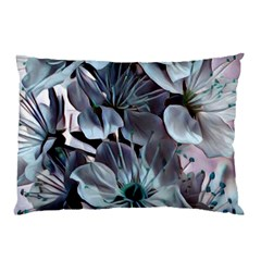 Wonderful Silky Flowers B Pillow Case by MoreColorsinLife