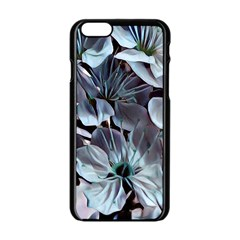Wonderful Silky Flowers B Apple Iphone 6/6s Black Enamel Case by MoreColorsinLife
