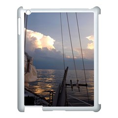 Sailing Into The Storm Apple Ipad 3/4 Case (white) by oddzodd