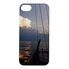 Sailing Into The Storm Apple Iphone 5s/ Se Hardshell Case by oddzodd