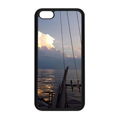 Sailing Into The Storm Apple Iphone 5c Seamless Case (black) by oddzodd