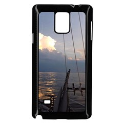 Sailing Into The Storm Samsung Galaxy Note 4 Case (black) by oddzodd