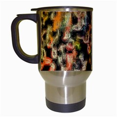 Colorful Texture                     Travel Mug (white) by LalyLauraFLM