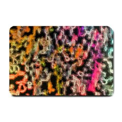 Colorful Texture                     Small Doormat by LalyLauraFLM