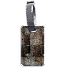 Concrete Grunge Texture                      Luggage Tag (one Side) by LalyLauraFLM