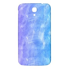 Blue Purple Watercolors               Samsung Galaxy Note 4 Pu Leather Hardshell Back Case by LalyLauraFLM