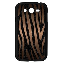 Skin4 Black Marble & Bronze Metal (r) Samsung Galaxy Grand Duos I9082 Case (black) by trendistuff