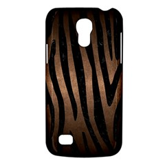 Skin4 Black Marble & Bronze Metal Samsung Galaxy S4 Mini (gt I9190) Hardshell Case  by trendistuff