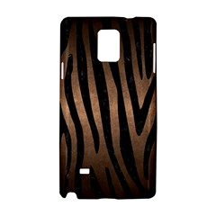 Skin4 Black Marble & Bronze Metal Samsung Galaxy Note 4 Hardshell Case by trendistuff