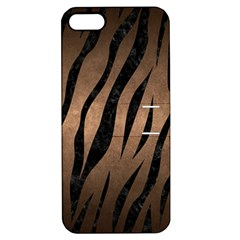 Skin3 Black Marble & Bronze Metal (r) Apple Iphone 5 Hardshell Case With Stand by trendistuff