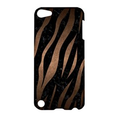 Skin3 Black Marble & Bronze Metal Apple Ipod Touch 5 Hardshell Case by trendistuff