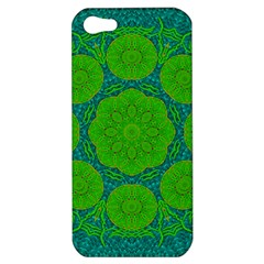 Summer And Festive Touch Of Peace And Fantasy Apple Iphone 5 Hardshell Case by pepitasart
