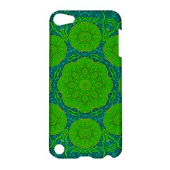 Summer And Festive Touch Of Peace And Fantasy Apple Ipod Touch 5 Hardshell Case by pepitasart