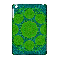 Summer And Festive Touch Of Peace And Fantasy Apple Ipad Mini Hardshell Case (compatible With Smart Cover) by pepitasart