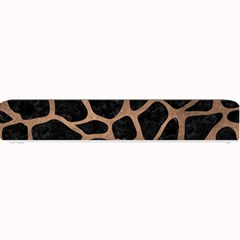 Skin1 Black Marble & Bronze Metal (r) Small Bar Mat by trendistuff