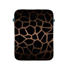Skin1 Black Marble & Bronze Metal (r) Apple Ipad 2/3/4 Protective Soft Case by trendistuff