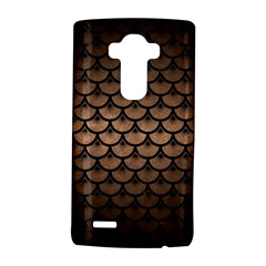 Scales3 Black Marble & Bronze Metal (r) Lg G4 Hardshell Case by trendistuff