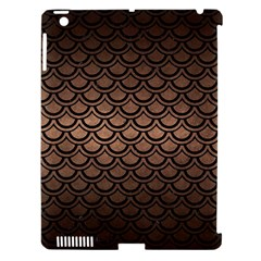 Scales2 Black Marble & Bronze Metal (r) Apple Ipad 3/4 Hardshell Case (compatible With Smart Cover) by trendistuff