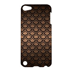 Scales2 Black Marble & Bronze Metal (r) Apple Ipod Touch 5 Hardshell Case by trendistuff