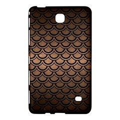 Scales2 Black Marble & Bronze Metal (r) Samsung Galaxy Tab 4 (8 ) Hardshell Case  by trendistuff