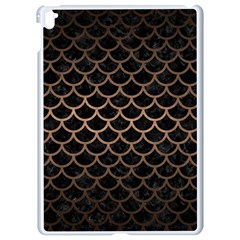 Scales1 Black Marble & Bronze Metal Apple Ipad Pro 9 7   White Seamless Case by trendistuff