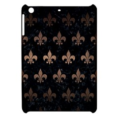 Royal1 Black Marble & Bronze Metal (r) Apple Ipad Mini Hardshell Case by trendistuff