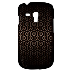 Hexagon1 Black Marble & Bronze Metal Samsung Galaxy S3 Mini I8190 Hardshell Case by trendistuff