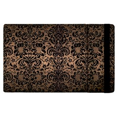 Damask2 Black Marble & Bronze Metal (r) Apple Ipad Pro 12 9   Flip Case by trendistuff