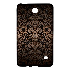Damask2 Black Marble & Bronze Metal Samsung Galaxy Tab 4 (7 ) Hardshell Case  by trendistuff