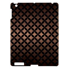 Circles3 Black Marble & Bronze Metal (r) Apple Ipad 3/4 Hardshell Case by trendistuff