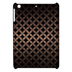 Circles3 Black Marble & Bronze Metal Apple Ipad Mini Hardshell Case by trendistuff