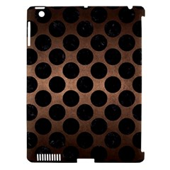 Circles2 Black Marble & Bronze Metal (r) Apple Ipad 3/4 Hardshell Case (compatible With Smart Cover) by trendistuff