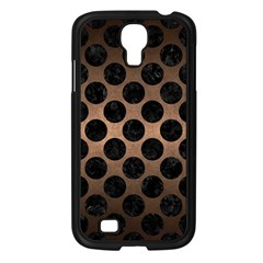 Circles2 Black Marble & Bronze Metal (r) Samsung Galaxy S4 I9500/ I9505 Case (black) by trendistuff