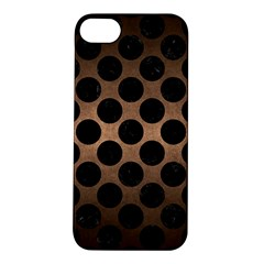 Circles2 Black Marble & Bronze Metal (r) Apple Iphone 5s/ Se Hardshell Case