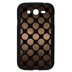 Circles2 Black Marble & Bronze Metal Samsung Galaxy Grand Duos I9082 Case (black) by trendistuff