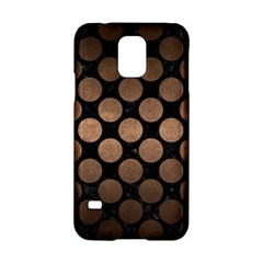 Circles2 Black Marble & Bronze Metal Samsung Galaxy S5 Hardshell Case  by trendistuff