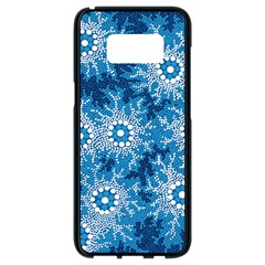 Aboriginal Art – Bushland Dreaming Samsung Galaxy S8 Black Seamless Case