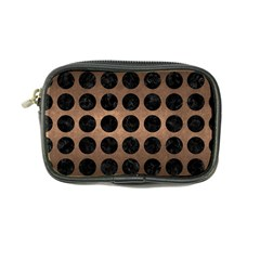 Circles1 Black Marble & Bronze Metal (r) Coin Purse by trendistuff