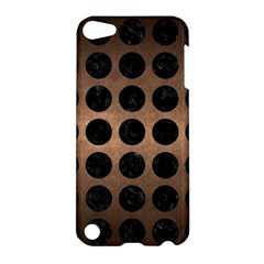 Circles1 Black Marble & Bronze Metal (r) Apple Ipod Touch 5 Hardshell Case by trendistuff