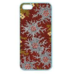 Aboriginal Art – Riverside Dreaming Apple Seamless Iphone 5 Case (color) by hogartharts