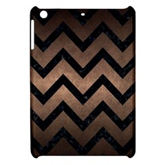 Chevron9 Black Marble & Bronze Metal (r) Apple Ipad Mini Hardshell Case by trendistuff