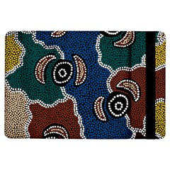 Aboriginal Art - Riverside Dreaming Ipad Air Flip by hogartharts