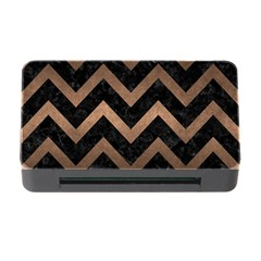 Chevron9 Black Marble & Bronze Metal Memory Card Reader With Cf by trendistuff