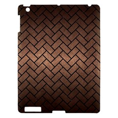 Brick2 Black Marble & Bronze Metal (r) Apple Ipad 3/4 Hardshell Case by trendistuff