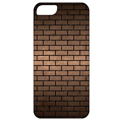 Brick1 Black Marble & Bronze Metal (r) Apple Iphone 5 Classic Hardshell Case by trendistuff