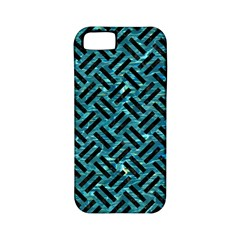 Woven2 Black Marble & Blue Green Water (r) Apple Iphone 5 Classic Hardshell Case (pc+silicone) by trendistuff